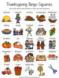 thanksgiving free create your own luck bingo this resource