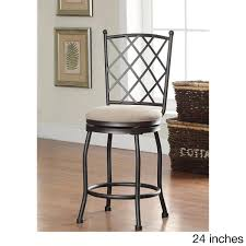 cushioned bar stool tristan swivel bar stool with cushion free shipping today