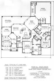 1 story house plans without garage interior design