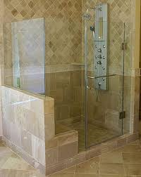 Seamless Glass Shower Door Inline Frameless Shower Enclosure Frameless Steam Shower Va