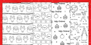 in wrapping paper christmas printable colour in wrapping paper festivities