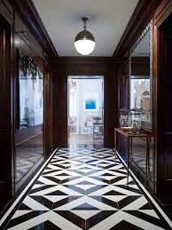 Floor Covering Ideas For Hallways 25 Classy And Elegant Black U0026 White Floors Flooring Ideas Tile