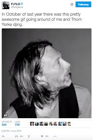 Thom Yorke Meme - flying lotus is making films now and all because of a thom yorke