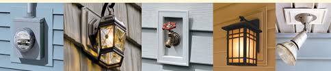 how to install vinyl siding light mounting blocks mid america siding components products mount blocks utility