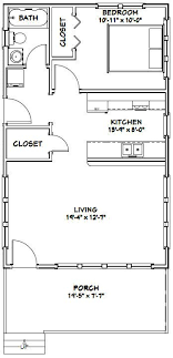 shed homes plans 20x32 tiny house 20x32h4d 640 sq ft excellent floor plans