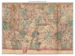 Map Of Massachusetts by County Maps From Walling State Map Of Ma