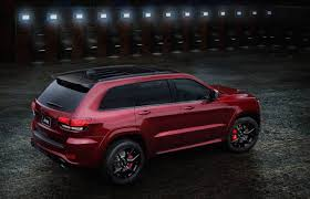 suv jeep 2016 jeep grand cherokeet srt night edition announced for australia