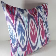 cotton ikat pillow ikat pillow cover c150 ikat throw pillows