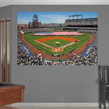 yankee stadium wall mural finding nemo wall mural home design baseball mural home design ideas inside coors field mural colorado rockies wall decal sports decor baseball