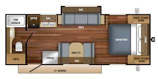 2018 jay feather travel trailer floorplans prices jayco inc 2018 jay feather 22rb floorplan