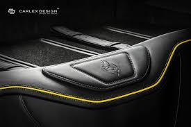 ferrari yellow interior carlex design gives yellow ferrari f12 a new interior autoevolution