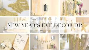 Cheap New Years Eve Decorations Ideas by How To New Years Eve Party Diy Decor Youtube