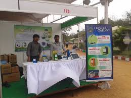 solar light crafts thrive solar participates in the 12th rural technology and crafts