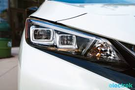 nissan headlights 85 new nissan leaf 2018 headlight design national drive electric