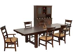 China Cabinet And Dining Room Set Rustic Mahogany Dining Table Set Mahogany China Cabinet