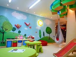 kids playroom designs ideas by the whims of children as colors