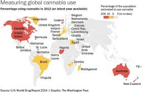 Estonia On The World Map by This Surprising Map Explains How The World Smokes Pot The