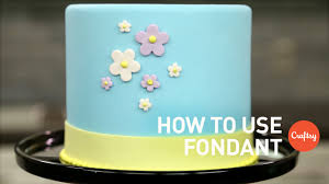 How To Make Plastic Icing Decorations How To Use Fondant 4 Tips Cake Decorating Tutorial Youtube