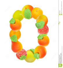 alphabet from fruit the letter o stock photography image 6182292