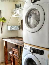 apartments terrific laundry room design with wooden laundry table