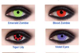 halloween black contact lenses free colored contacts sample by