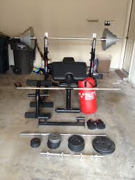 powerhouse weight bench set bench decoration