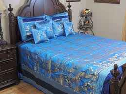 inspired bedding blue gold elephant pair india inspired bedding decorative duvet