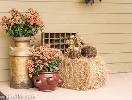 Fall Hay Decorations - wildruffle com wp content uploads 2013 09 wildruff