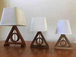 Harry Potter Bathroom Accessories Harry Potter Deathly Hallows Table Lamp Harry Potter Kids Lamp