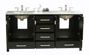 72 Vanities For Double Sinks Bathroom Wondrous Design Of 72 Inch Vanity For Contemporary