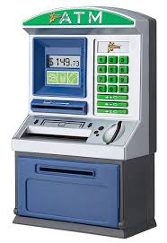 amazon com zillionz savings teller atm bank toys u0026 games