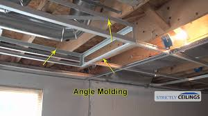 suspended ceiling drops why and installation youtube