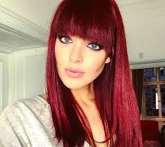 Frisuren Und Farbe Lange Haare by Bordeaux Rot Ist Die Farbe Für Den Herbst Schauen Sie Sich Diese