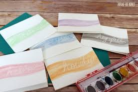 watercolor notecards diy watercolor notecards