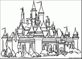 Top 86 Castle Coloring Pages Inside Itgod Of Castle Coloring Pages Coloring Pages Castles