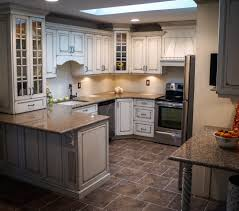 Shabby Chic Kitchen Decorating Ideas Kitchen Style White Glass Cabinet Doors Shabby Chic Kitchen Stone