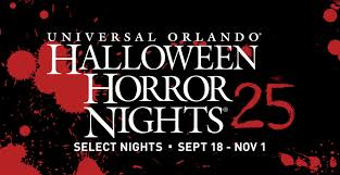 universal studios and halloween horror nights tickets halloween horror nights 25 youtube