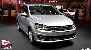 volkswagen vento volkswagen vento with drls showcased at 2016 auto expo youtube