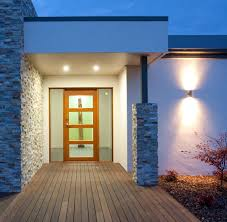 external lighting options for the entry of your home light up
