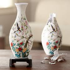 Birds Home Decor Birds And Flowers 3 D Puzzle Vase National Geographic Store