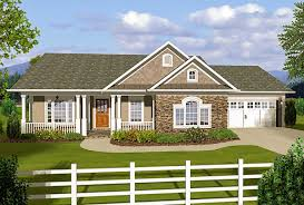 plan 20108ga 3 bedroom ranch with covered porches the area the