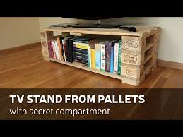 Secret Compartment Bookcase Tv Stand From Pallets With Secret Compartment U2022 1001 Pallets