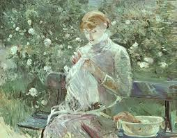 In The Dining Room Berthe Morisot  DescargasMundialescom - Berthe morisot in the dining room