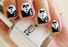 black nails chanel design zestymag