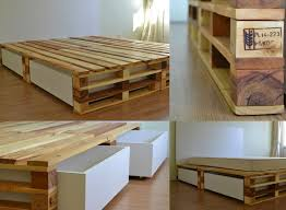 How To Make Wood Platform Bed Frame by The 25 Best Diy Pallet Bed Ideas On Pinterest Pallet Platform