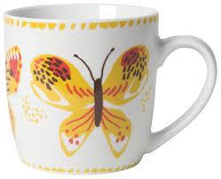 amazon com now designs gnome sweet gnome mugs set of 6 white