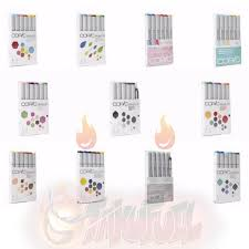 home u0026 kitchen features copic markers 6 piece sketch set skin
