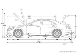 mercedes s class dimensions mercedes c e and s class the key differences in