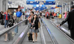 Where Is Midway Airport In Chicago On A Map by United Airlines Is Yanking Moving Walkways At O U0027hare Concourse