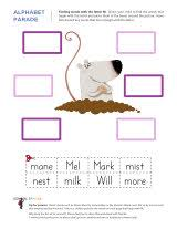 letter m worksheets sparks